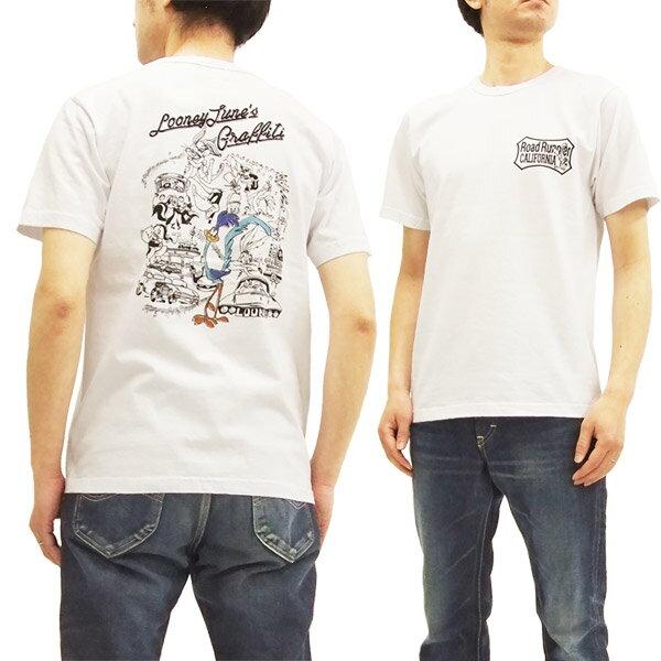 ロードランナー Tシャツ CH78004 Cheswick チェスウィック 東洋 メンズ 半袖tee #101ホワイト 新品