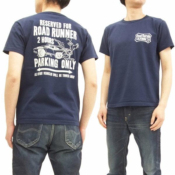 ロードランナー Tシャツ CH78006 Cheswick チェスウィック 東洋 メンズ 半袖tee #128ネイビー 新品