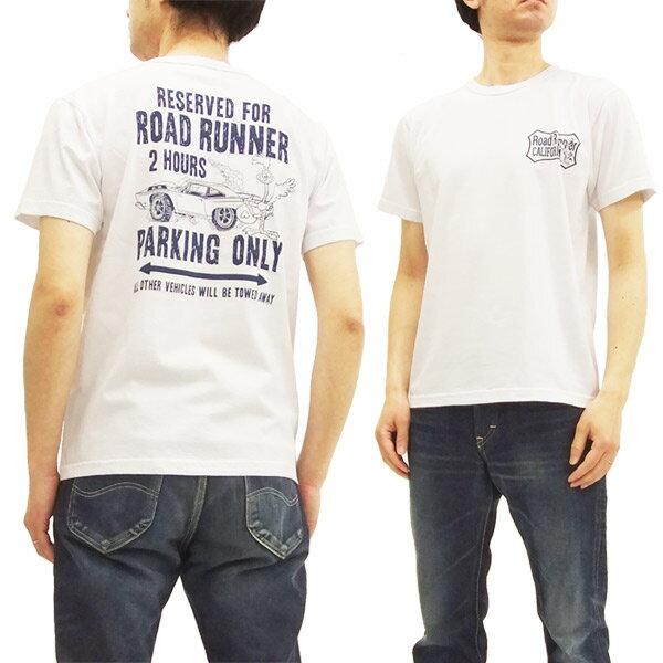 ロードランナー Tシャツ CH78006 Cheswick チェスウィック 東洋 メンズ 半袖tee #101ホワイト 新品