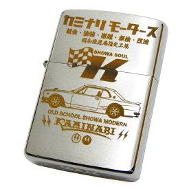 カミナリ KMZ-400 ジッポー ライター ハコスカ × 旭日旗 雷 エフ商会 ZIPPO 新品