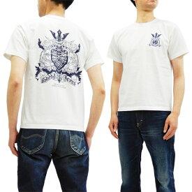 サムライジーンズ Tシャツ SJST20TH-04 Samurai Jeans メンズ 半袖tee ホワイト 新品