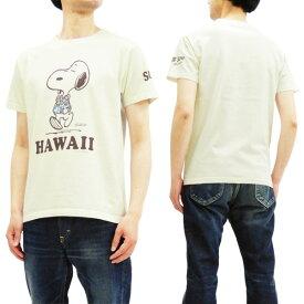 サンサーフ x ピーナッツ SS78116 Tシャツ スヌーピー 東洋 Sun Surf メンズ 半袖Tee オフ 新品