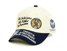 テッドマン TDC6-7000 六方キャップ TEDMAN エフ商会 やや浅め メンズ 帽子 オフ×紺 新品