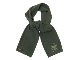トイズマッコイ TMA1828 サーマル スカーフ TOYS McCOY USエアフォース ワッフル マフラー #030ブラック 新品