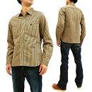ステュディオ・ダ・ルチザン5617ヒッコリーストライプワークシャツStudioD'artisanミスターレイルロードシャツメンズ長袖シャツ新品