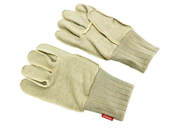 ステュディオ・ダルチザン 手袋 7465 スヴィンゴールド手袋 Studio D'artisan スウェット生地 メンズ グローブ 杢グレー 新品