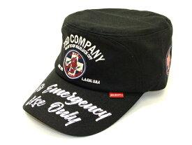 テッドマン ワークキャップ TDCW-300 TEDMAN 米国軍医学部 エフ商会 メンズ 帽子 ブラック 新品