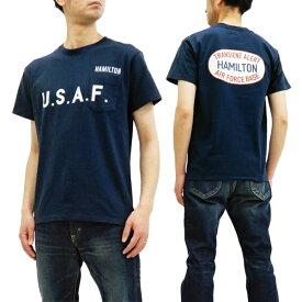 フェローズ ポケット Tシャツ 19S-PPT2 Pherrow's Pherrows メンズ ミリタリー 半袖tee ネイビー 新品