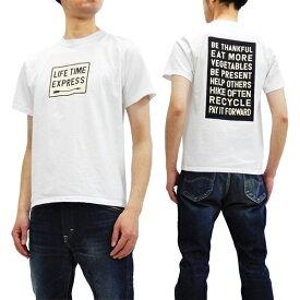 フェローズ Tシャツ 19S-PT7 Pherrow's Pherrows メッセージロゴ メンズ 半袖tee ホワイト 新品