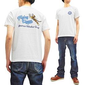 バズリクソンズ Tシャツ BR78168 Buzz Rickson フライングタイガース メンズ スラブ 半袖tee ホワイト 新品