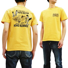 ロードランナー Tシャツ CH78254 Cheswick チェスウィック 東洋 メンズ 半袖tee ゴールド 新品