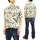 ミスターフリーダム サンサーフ SC38090 ロックンロールシャツ Yucatan メンズ 半袖シャツ オフホワイト 新品