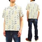 スター・オブ・ハリウッドSH38124オープンシャツ東洋エンタープライズメンズ半袖シャツ新品WavyStripe