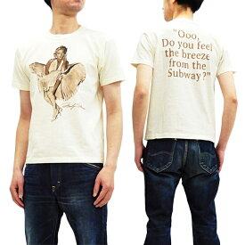 トイズマッコイ Tシャツ TMC1919 マリリンモンロー TOYS McCOY メンズ 半袖Tee オフホワイト 新品