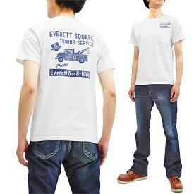 フェローズ ポケット Tシャツ 19S-PPT4 Pherrow's Pherrows メンズ アメカジ 半袖tee ホワイト 新品