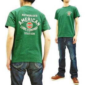 フェローズ Tシャツ 19S-PT17 Pherrow's Pherrows メンズ アメカジ 半袖tee グリーン 新品