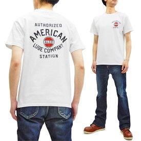 フェローズ Tシャツ 19S-PT17 Pherrow's Pherrows メンズ アメカジ 半袖tee ホワイト 新品