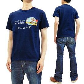 バズリクソンズ Tシャツ BR78346 ボンバーバロンズ Buzz Rickson 東洋 メンズ 半袖tee ネイビー 新品