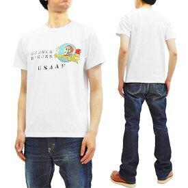 バズリクソンズ Tシャツ BR78346 ボンバーバロンズ Buzz Rickson 東洋 メンズ 半袖tee ホワイト 新品