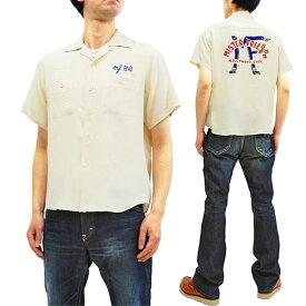 ミスターフリーダム ボウリングシャツ Mister Freedom BOWLER shirt SC38088 メンズ 半袖シャツ オフ 新品