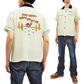 スタイルアイズ ボウリングシャツ SE38077 東洋 Style Eyes メンズ 半袖 刺繍 ボーリングシャツ オフ 新品