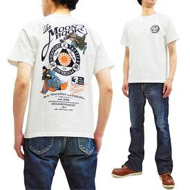 サムライジーンズ Tシャツ SJST19-106 剣術士柄 Samurai Jeans メンズ 和柄 半袖tee ホワイト 新品