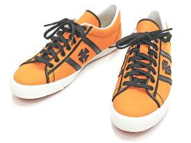 サムライジーンズ スニーカー SM92LOW19-3 サムライ自動車倶楽部 メンズ キャンバス シューズ 靴 オレンジ 新品