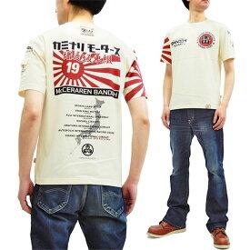 カミナリ Tシャツ TDBDTEE-400 WedsSport テッドマン コラボ エフ商会 メンズ 半袖tee オフ白 新品