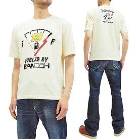 テッドマン Tシャツ TDBDTEE-500 雷 カミナリ 爆走坂東組 コラボ エフ商会 メンズ 半袖tee オフ白 新品