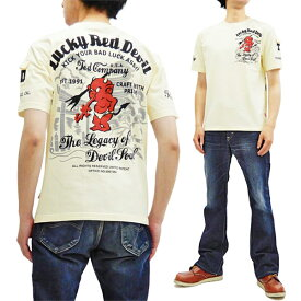 テッドマン Tシャツ TDSS-501 TEDMAN 三重塔 鳥居 和柄 エフ商会 メンズ 半袖tee オフ白 新品