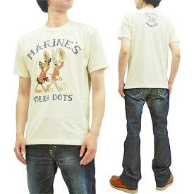 トイズマッコイ Tシャツ TMC1911 バッグスバニー ダフィーダック TOYS McCOY メンズ 半袖Tee オフ白 新品