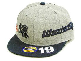 WedsSport カミナリ テッドマン BANDOH ストレートキャップ WEDSCAP-800 スナップバック メンズ 帽子 新品