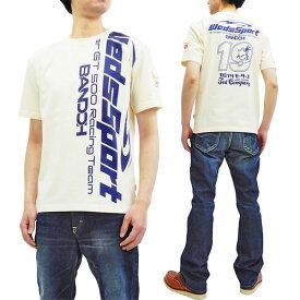 テッドマン Tシャツ WEDSTEE-10 カミナリ WedsSport コラボ エフ商会 メンズ 半袖tee オフ白 新品