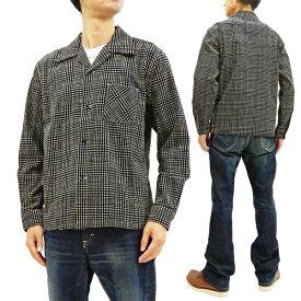 スタイルアイズ SE28262 コーデュロイスポーツシャツ 東洋エンタープライズ メンズ 長袖シャツ 119ブラック 新品