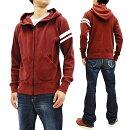 桃太郎ジーンズ07-045ワッフルパーカーメンズGTBジップアップ・サーマルフーディ新品MomotaroJeansWaffle-KnitHoodieMen'sFullZipHoodedThermalShirt07-045