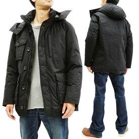 ザンタージャパン ダウンジャケット 6705 ZANTER JAPAN メンズ ダウンパーカー WP-H ブラック 新品