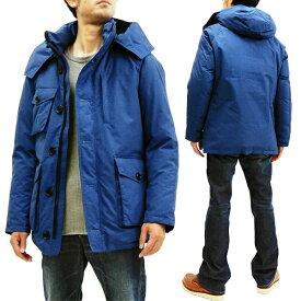 ザンタージャパン ダウンジャケット 6705 ZANTER JAPAN メンズ ダウンパーカー WP-H ブルー 新品