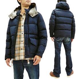 ザンタージャパン ダウンジャケット 6710 ZANTER JAPAN メンズ ダウンパーカー ネイビー 新品