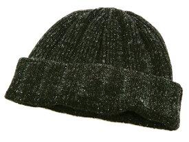 フェローズ PSWC1 リブ編み ニットキャップ シルク/ウール ワッチキャップ メンズ 帽子 19W-PSWC1 ブラック 新品