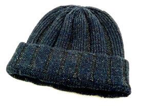 フェローズ PSWC1 リブ編み ニットキャップ シルク/ウール ワッチキャップ メンズ 帽子 19W-PSWC1 ネイビー 新品