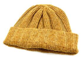 フェローズ PSWC1 リブ編み ニットキャップ シルク/ウール ワッチキャップ メンズ 帽子 19W-PSWC1 マスタード 新品