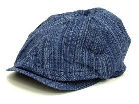 サムライジーンズ ハンチングハット 藍しじら織り SJ301HN20-AI メンズ ハンチングキャップ 帽子 新品