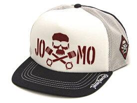 トイズマッコイ メッシュキャップ TMA2003 TOYS McCOY ジョンソンモータース JOMO スカル メンズ 帽子 新品