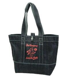 テッドマン デニム トートバッグ TDBG-1000 TEDMAN エフ商会 メンズ 鞄 インディゴ×オレンジ 新品