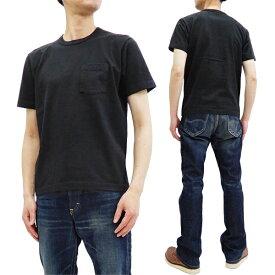ホワイツビル 無地 ポケット Tシャツ WV77516 Whitesville 東洋エンタープライズ メンズ 半袖tee ブラック 新品