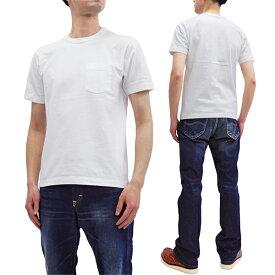 ホワイツビル 無地 ポケット Tシャツ WV77516 Whitesville 東洋エンタープライズ メンズ 半袖tee オフ白 新品