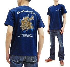 サンサーフ Tシャツ SS78788 百虎 東洋エンタープライズ Sun Surf メンズ 半袖Tee ネイビー 新品