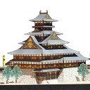 豊臣大坂城 <新復元案> A4サイズ 城郭模型 ジオラマ風 日本の名城シリーズ1/300 NO12(ゆうメール発送/代引き未対応)