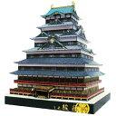 ペーパークラフト日本の名城シリーズ1/300 駿府城 (ゆうメール発送 代引きは対応しておりません。)
