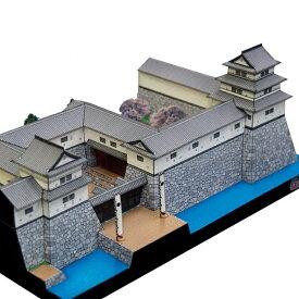 津城 A4サイズ 城郭模型 ジオラマ風 日本の名城シリーズ1/300 NO17(ゆうメール発送/代引き未対応)